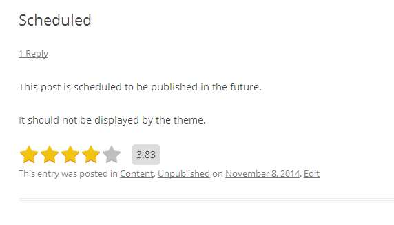 Star Rating Plugin WordPress, Download, Install