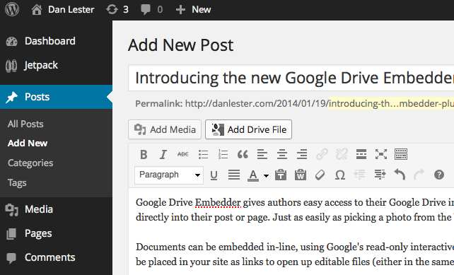 Google Drive Embedder Plugin WordPress, Download, Install