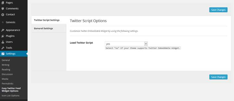 Easy Twitter Feed Widget Plugin Plugin WordPress, Download, Install