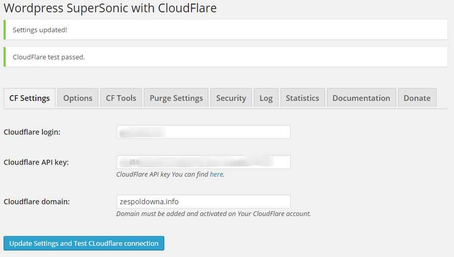 WordPress SuperSonic with CloudFlare Plugin WordPress, Download, Install