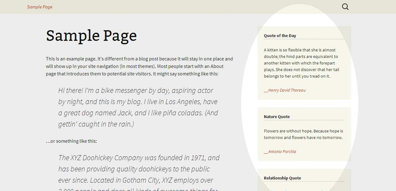 Quote of the Day - ITslum Plugin WordPress