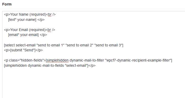 Dynamic Recipient for Contact Form 7 Plugin WordPress, Download, Install