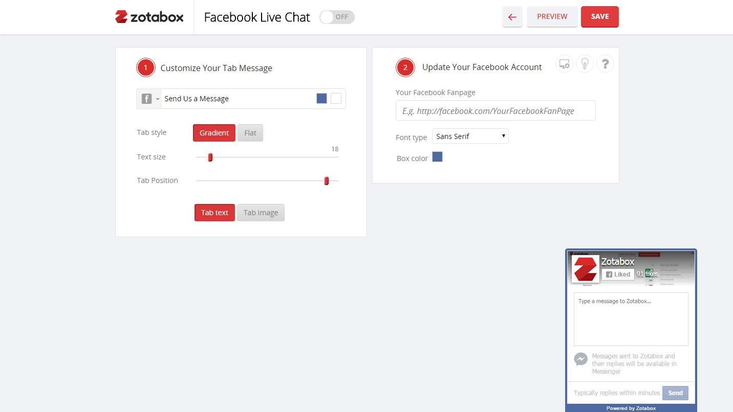 Facebook Messenger Live Chat Plugin WordPress