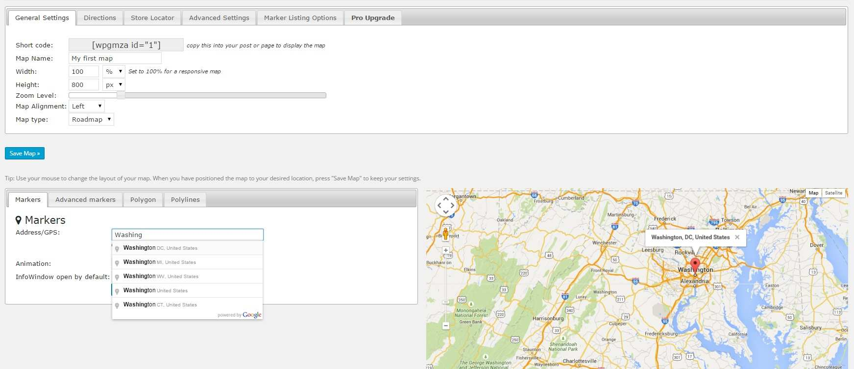 WP Google Maps Plugin WordPress, Download, Install