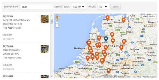 WP Store Locator Plugin WordPress