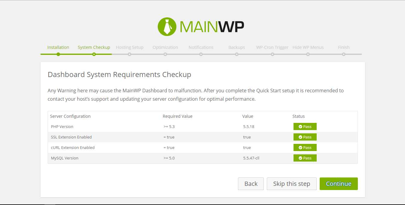 MainWP Dashboard Plugin WordPress, Download, Install