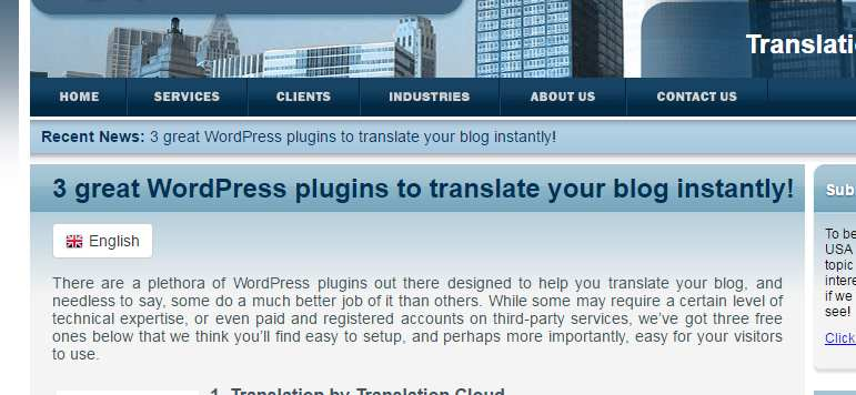 LinGO Translation Plugin WordPress, Download, Install