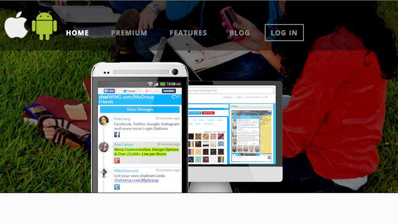 Chatwing Live Group Chat - HTML5 + Chat Apps Plugin WordPress