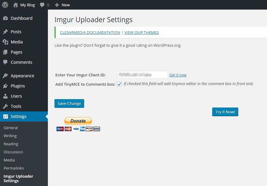 WP Editor Imgur Button Plugin WordPress, Download, Install