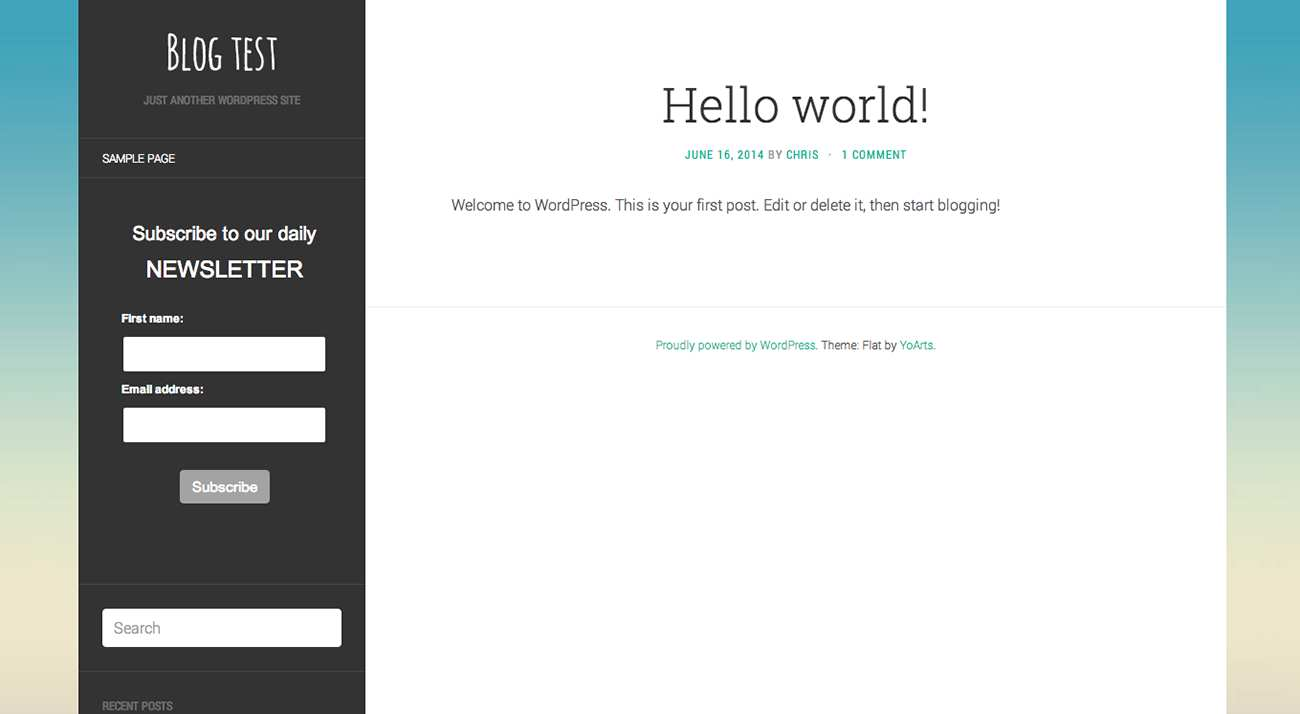 Email Blaster Newsletter Signup Form Plugin WordPress, Download, Install
