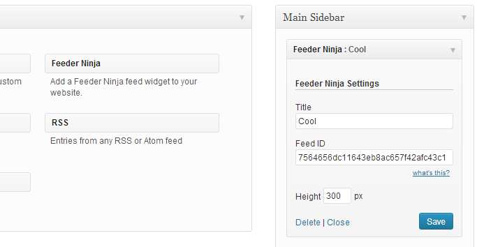 Feeder Ninja: Create and add RSS & Social feeds to your website on-the-fly Plugin WordPress