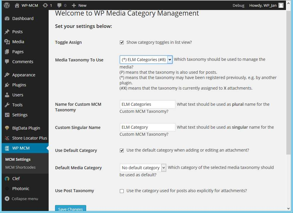 WP Media Category Management Plugin WordPress, Download, Install