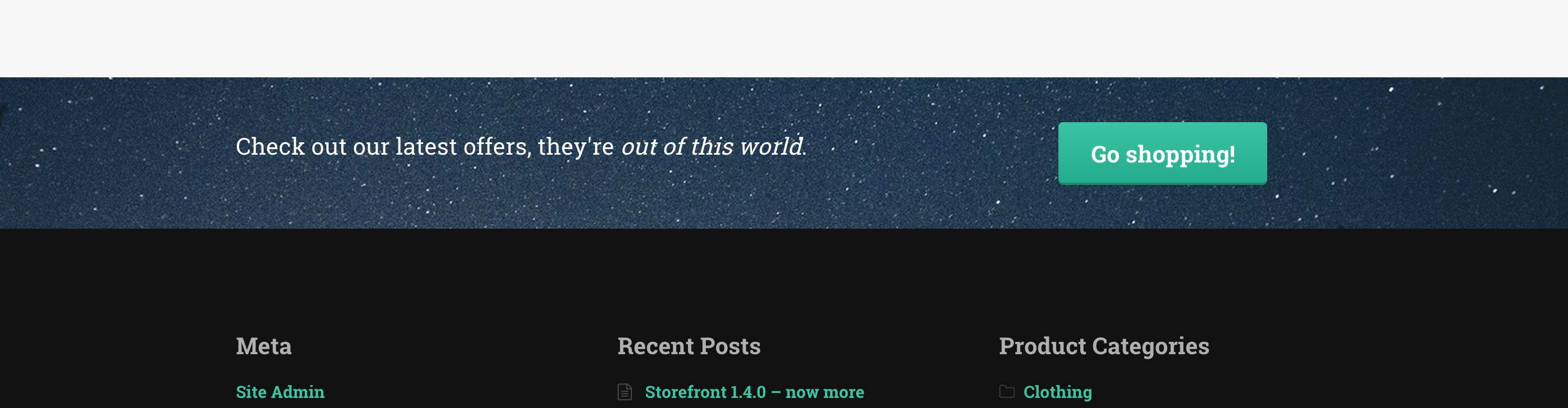 Storefront Footer Bar Plugin WordPress, Download, Install