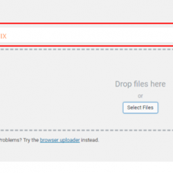 Http Error When Uploading Images To WordPress