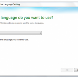 Windows Live Writer How To Change The Language?